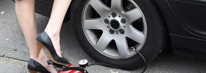 flat tire repair tow truck
