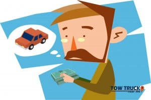 Car Trade cash payments - tow truck